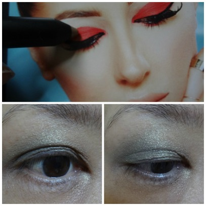 eye makeup look trestique