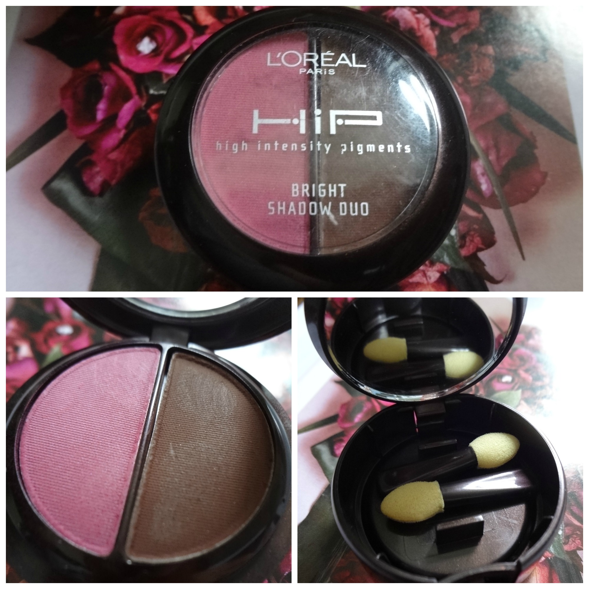 L'oreal HiP Bright Shadow Duo|Review & Swatch – Hey Sharonoox