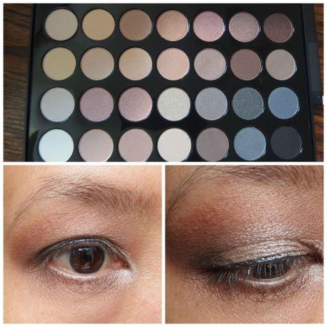 bh eye makeup