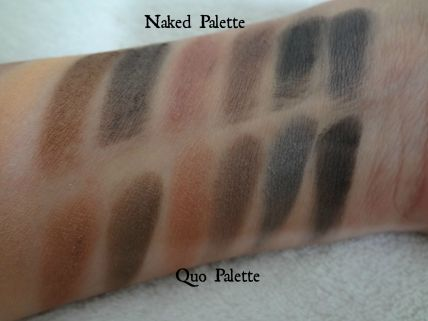 darker shades swatches
