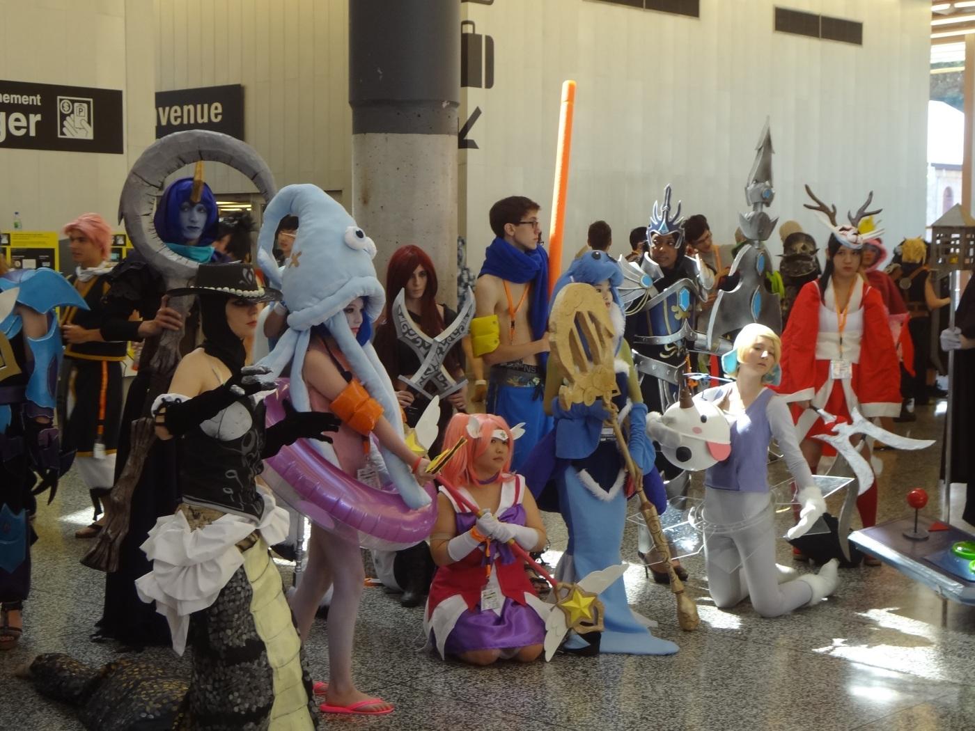 cosplay anime characters