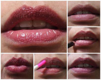 lip liner & tarte lipsurgence
