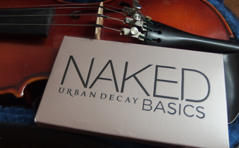Back To Basics – NAKED PALETTE BY URBAN DECAY