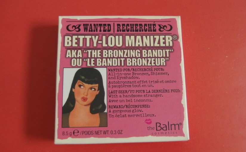 Betty-Lou Manizer By TheBalm Bronzer|Review