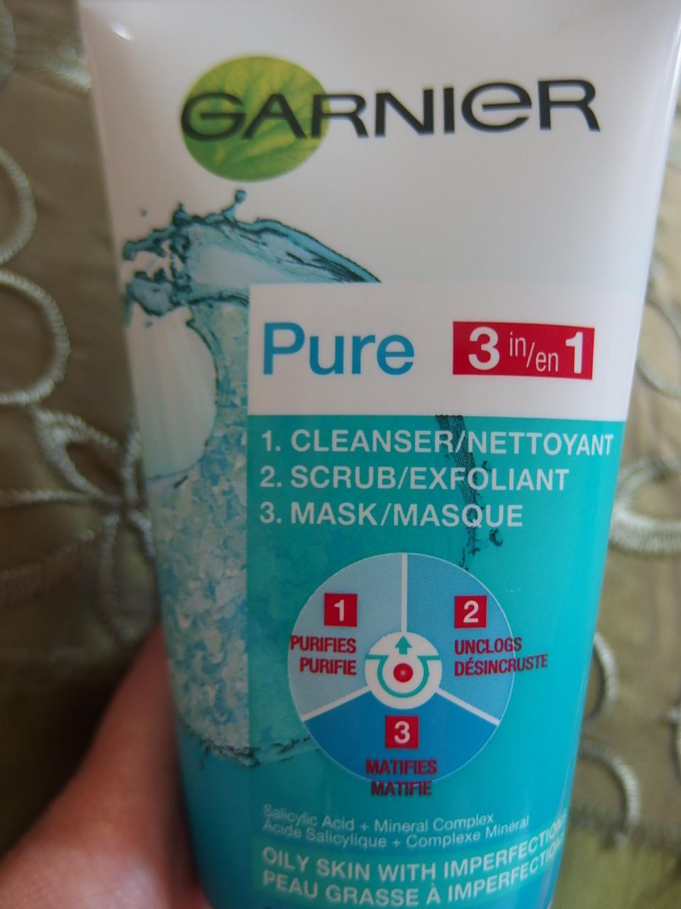 Garnier Exfoliating Scrub from Walmart