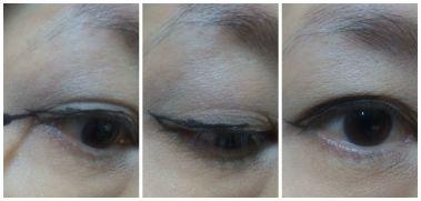 cat eye liner step 1