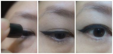 cat eye liner step 2 jpg