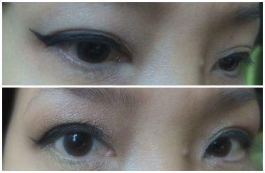 cat eye liner step 4
