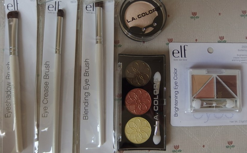 Beauty Mini Haul On Elf And LA Colors