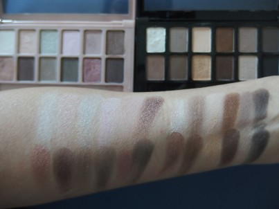 Maybelline Eyeshadow Palettes Comparison