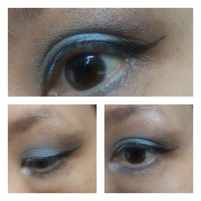 quo and mac eye look