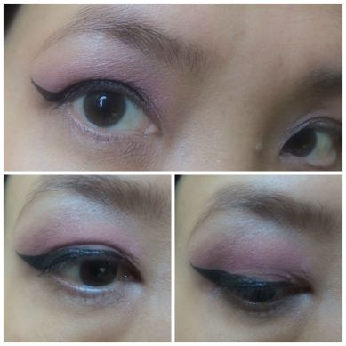 winged eye liner tutorial