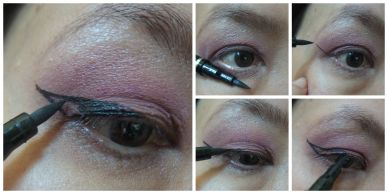 winged liner starlook