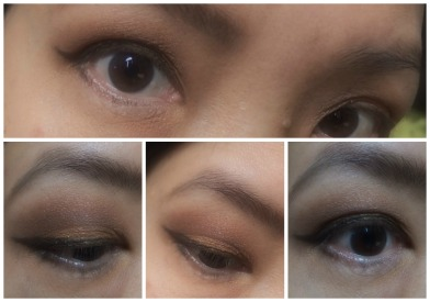 Color Tattoo in Fierce and Tangy with Hard Candy Lost & Found Purple eyeshadows EOTD