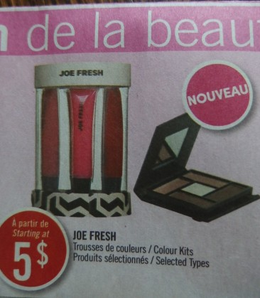flyer from Shoppers Drug Mart
