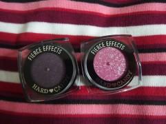 purple and pink eyeshadows