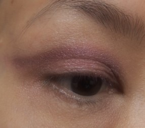 I winged it out with the purple shadow