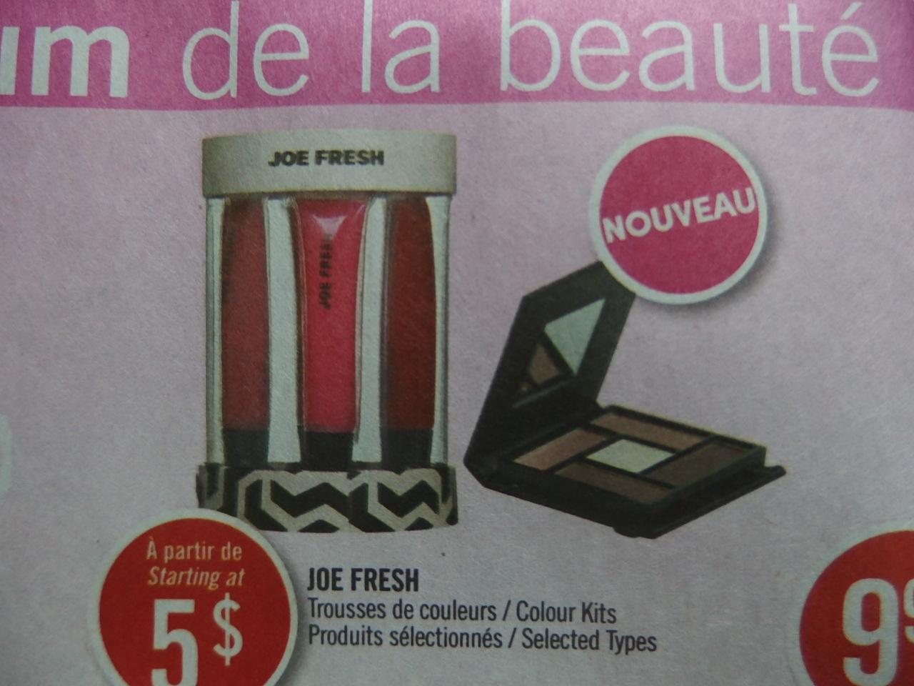 joe fresh cosmetics
