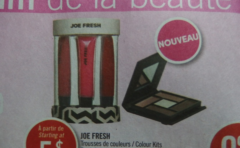 Breaking News! Joe Fresh Is Now Available At Shoppers Drug Mart