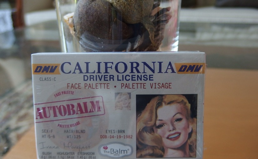 the Balm AutoBalm California Face Palette ForFall