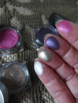 Pigmented & Shimmery