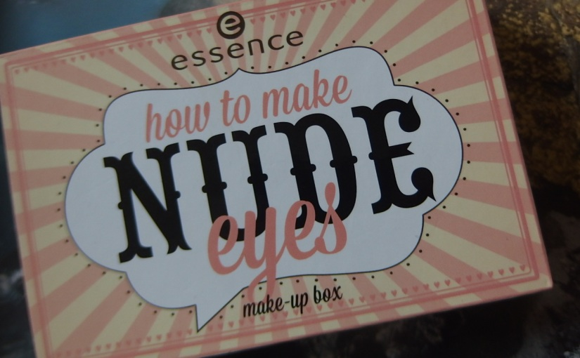 Essence Nude Eyeshadow Photo &Swatch