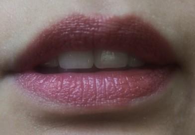 elegant maroon lipstick