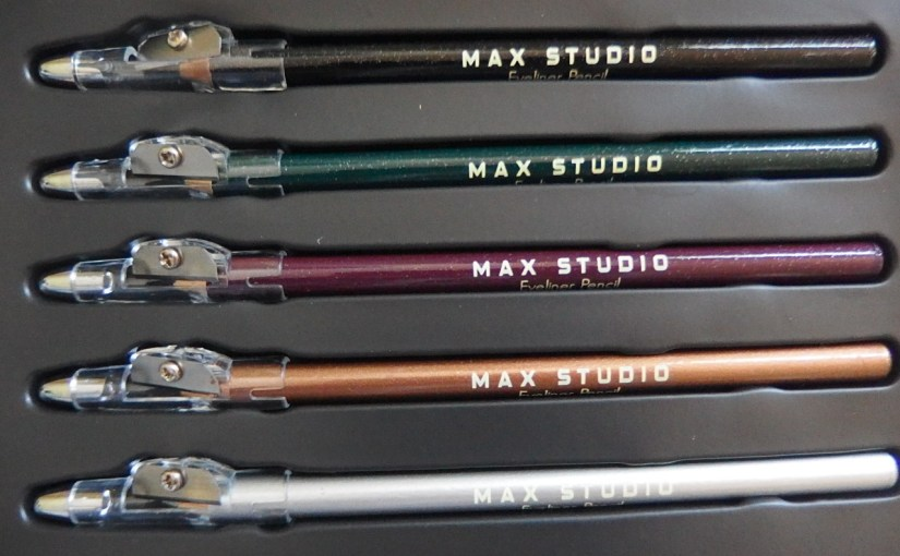 Max Studio Shimmer Eyeliner Pencils – Review