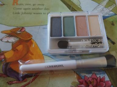 cover girl eyeshadow quad palette