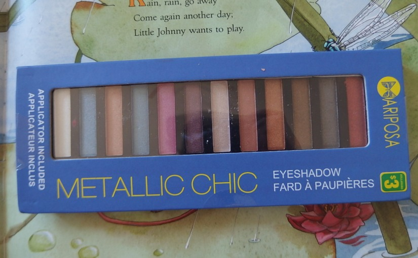 Mariposa Metallic Chic Eyeshadow Palette – Review
