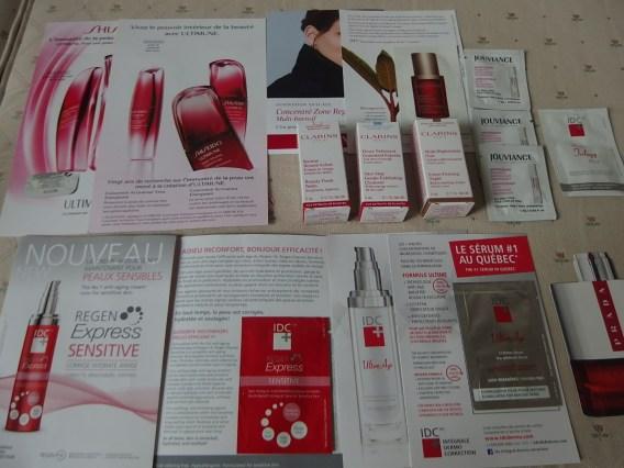 lancome cosmetics holiday gift bag
