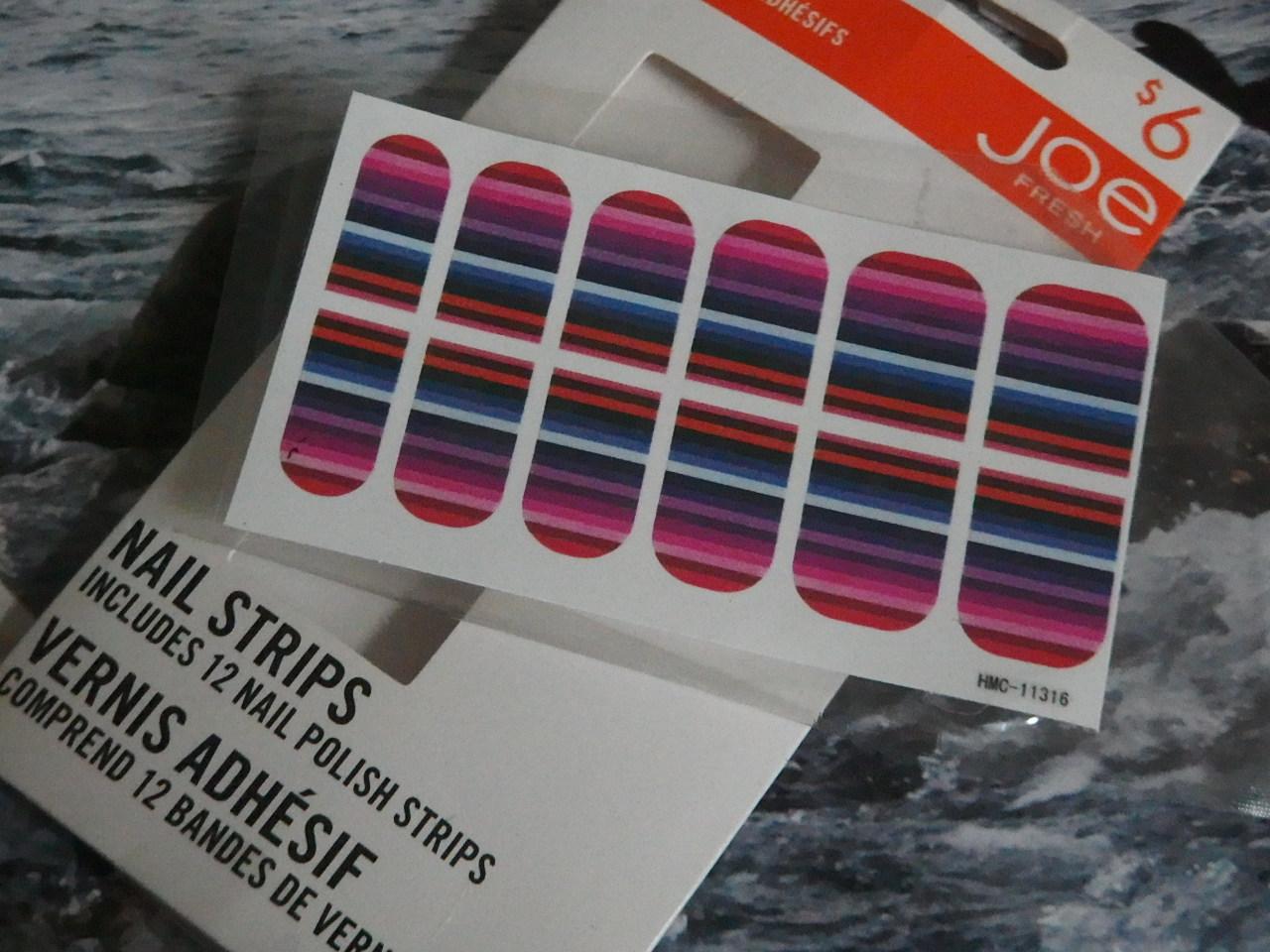 joe fresh nail strips