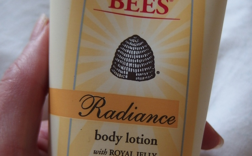 Burt's Bees A healthy radiance fit for aqueen.