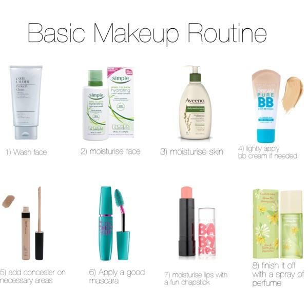 basic makeup routine