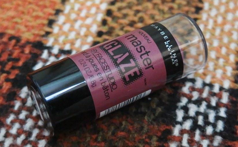 Make A Mauve Maybelline Master Glaze Stick Blush (Review &Swatch)