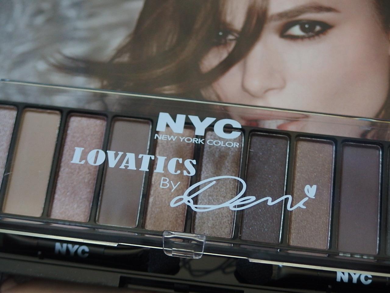 NYC Lovtics Demi Eyeshadow Palette