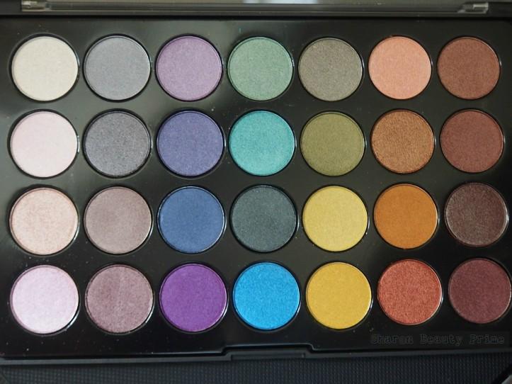 bh foil eyes palette