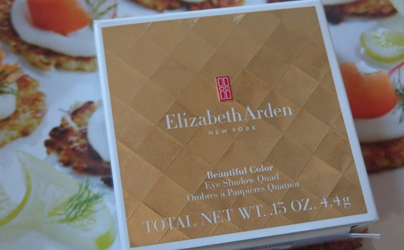 Elizabeth Arden Beautiful Color Eyeshadow Quad – Review & Swatch
