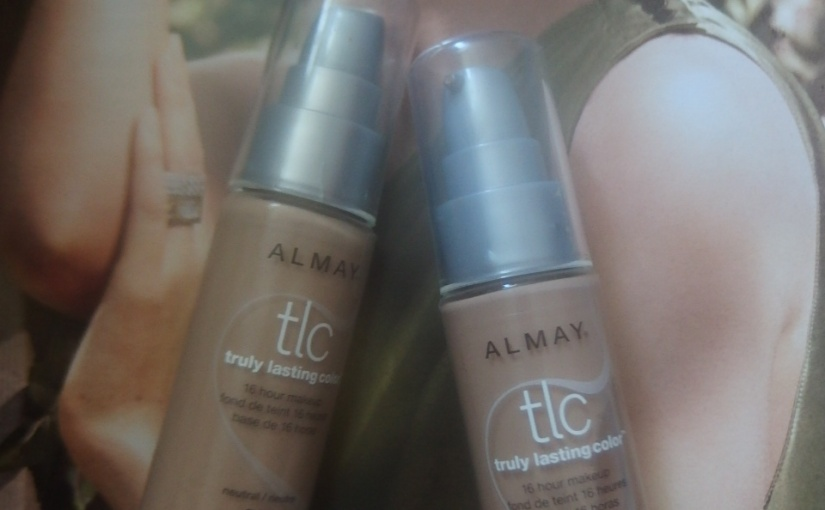 The Great Unknown – Almay TLC Liquid Foundation