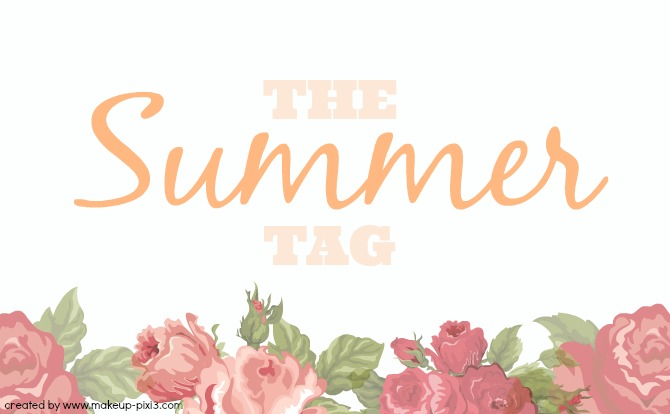 By Bloggers For Bloggers Summer Tag2016