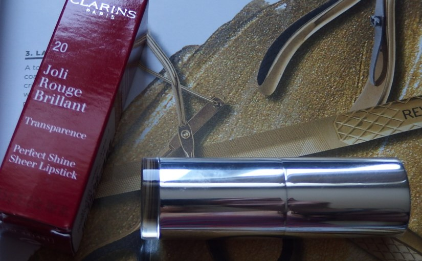 Clarins Paris|Perfect Shine Sheer Lipstick – Hit or Miss