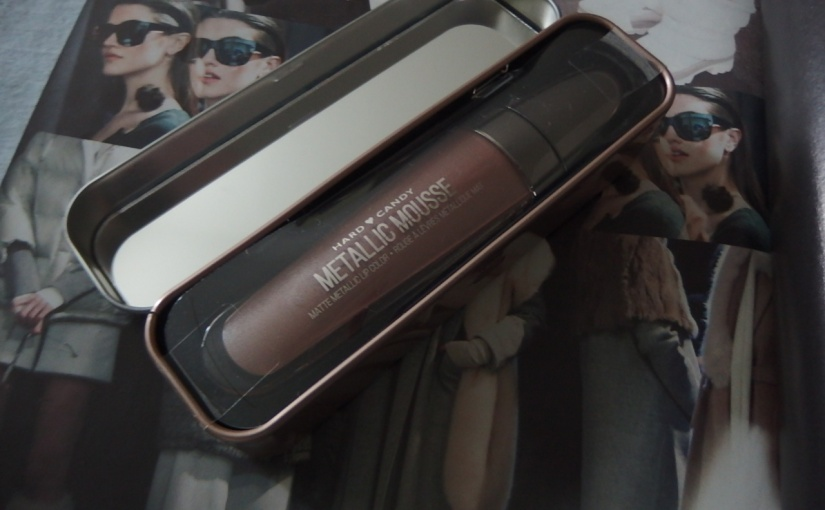 NEW Hard Candy Metallic Mousse – Review & Swatch
