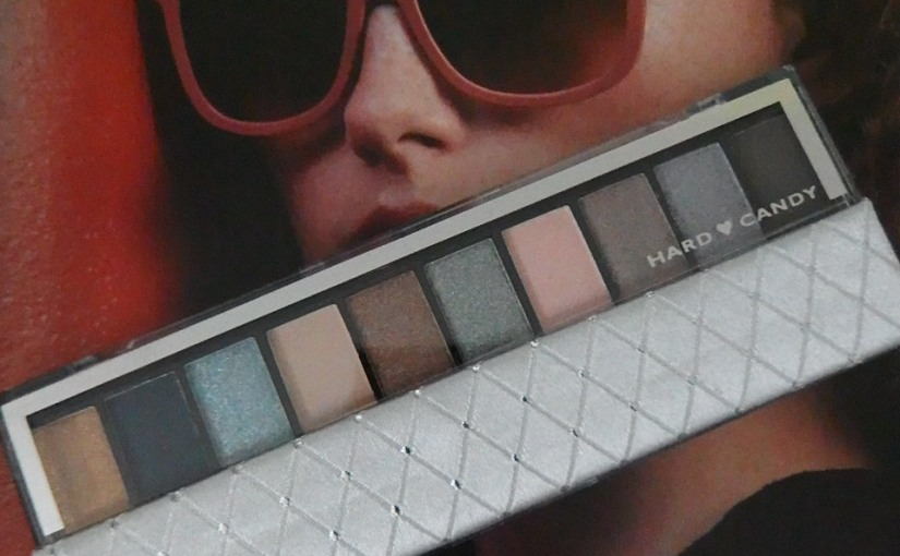 Blogtober* Top Ten Satin Eyeshadow Palette by Hard Candy (Review &Swatches)