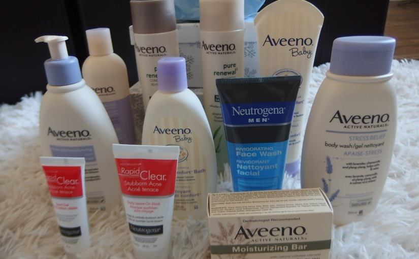 Aveeno Huge Beauty Haul