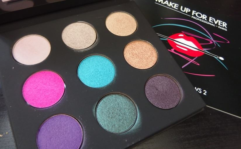 Blogmas Day 21 – Make Up For Ever #2 Artist Palette (Swatch & Photos)