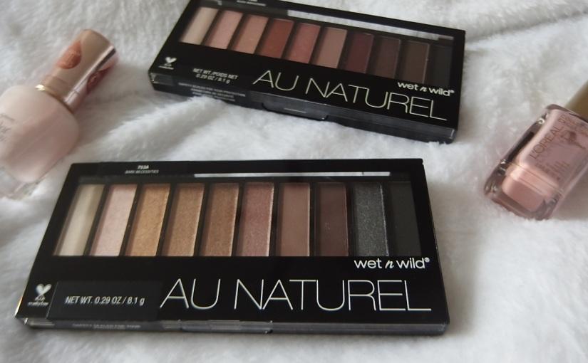 Tester Wednesday: Wet n Wild Au Naturel EyeshadowPalette