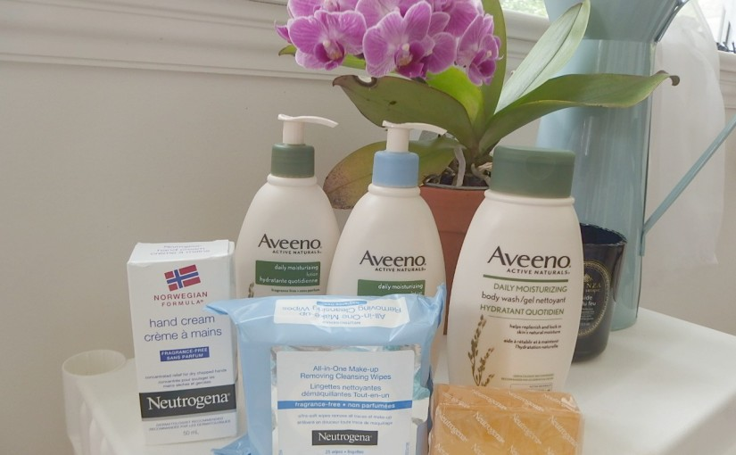 Aveeno & Neutrogena PR BOX Unboxing – My First Youtube Video EVER