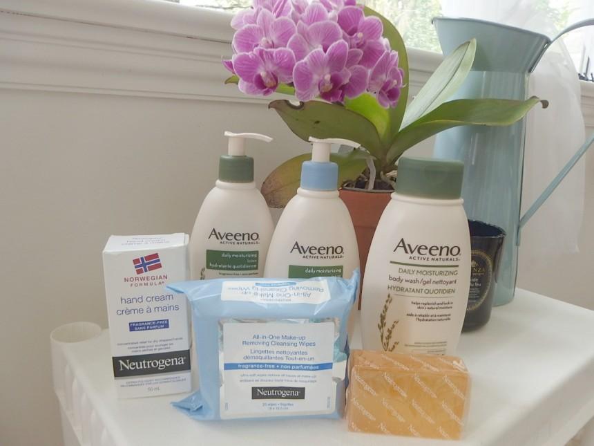 Aveeno Skin Products