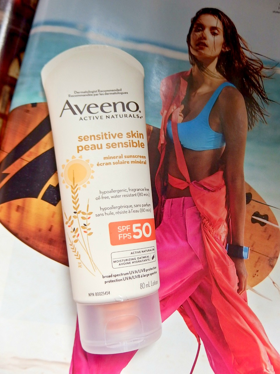 Aveeno Mineral Sunscreen