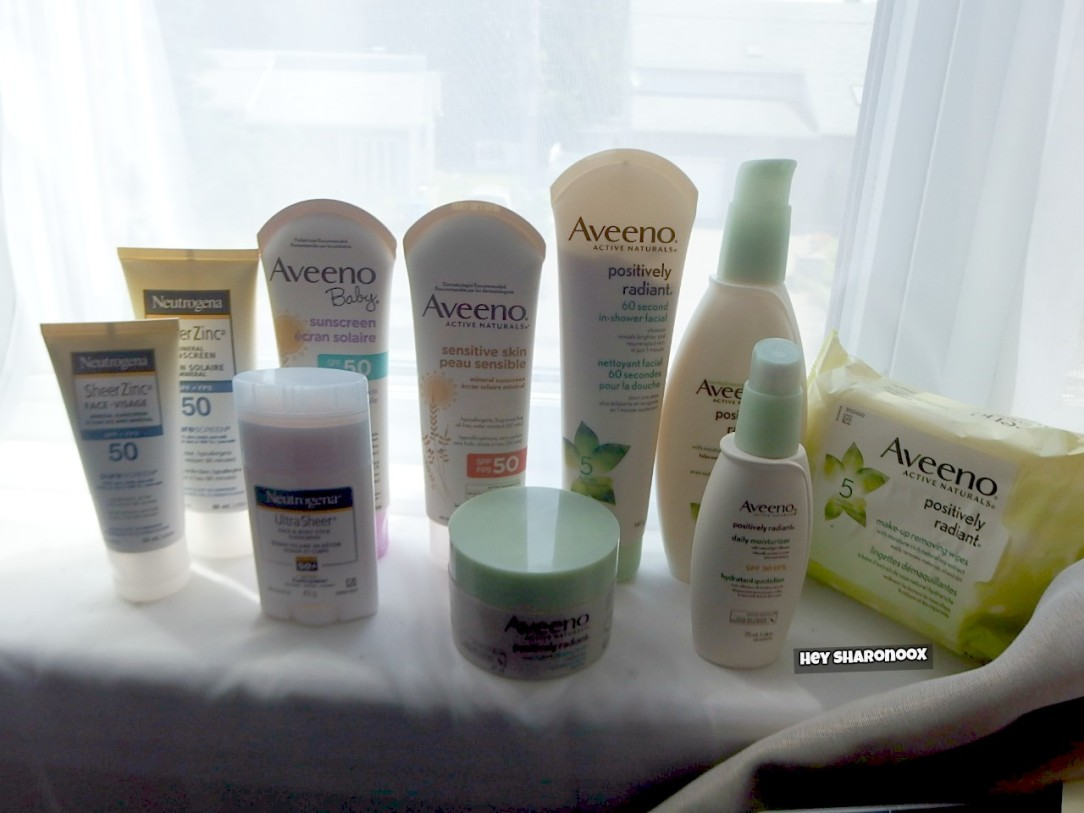 Aveeno Summer Must Haves